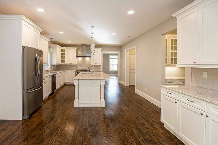 Modern, spacious open, high-end kitchens from Prominent Builders NJ
