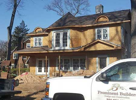 Renovation of home in Ridgewood NJ by Prominent Builders Glen Rock NJ