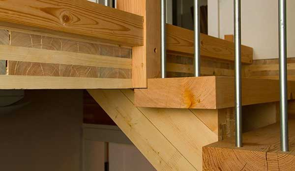 A new innovation in residential and commercial construction is the use of cross-laminated timber because of its increased strength.