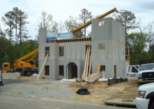 Self-compacting concrete has the ability to flow and spread enabling its use in complex structures