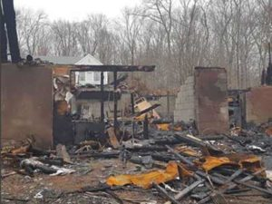 A devastating fire required construction of a new home for displaced family.