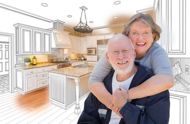 Many people are choosing to update their homes and age-in-place
