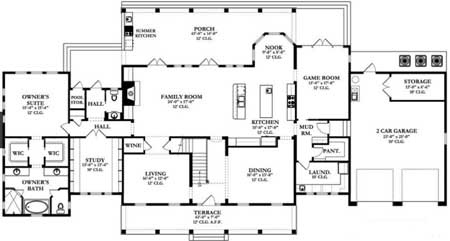 a detailed floorplan will ensure your spaces fit your needs