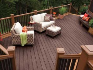 Enhance outdoor living by adding a deck or patio
