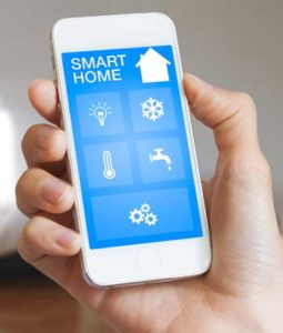 smart home automation with app on your smart phone