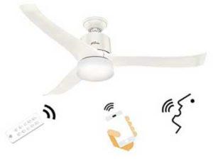 Hunter smart ceiling fan with WiFi