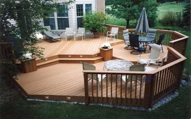 add a deck to enhance your outdoor experience