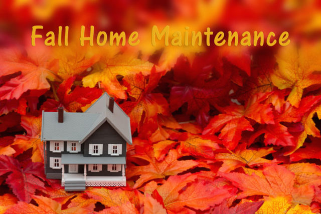 Fall Is Home Maintenance Time