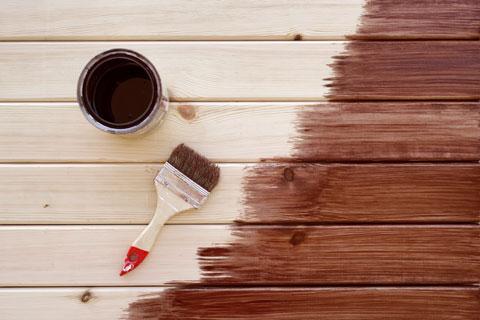 paint, stain or waterproof deck before winter