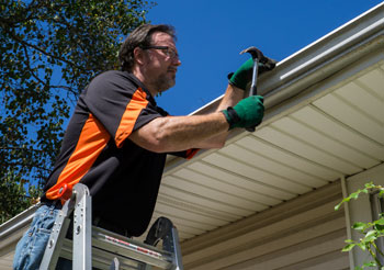 Inspect and repair gutters