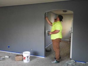 Fall and winter are good times for indoor painting projects