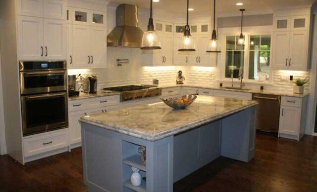 Custom gourmet kitchen remodel