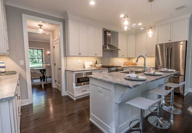 New Custom Kitchen by Prominent Builders in Bergen County NJ
