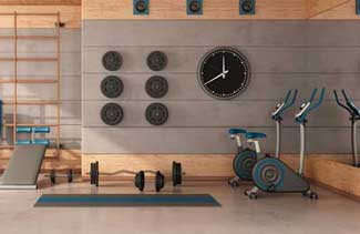 you basement can become a well-equipped home gym
